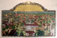 Asunción - Casa de la Independencia - alter Stadtplan