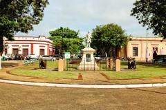 Villa Hayes - Denkmal für Rutherford B. Hayes