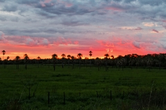 Sonnenuntergang bei Vallemi