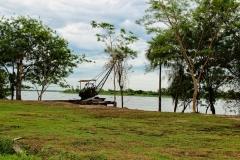Puerto Casado am Ufer des Río Paraguay
