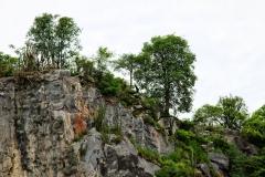 Kalkfelsen bei Vallemi