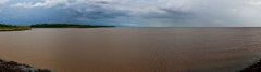 Río Paraná (Staudamm Yacyreta)
