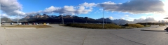 Ushuaia vom Flughafen aus
