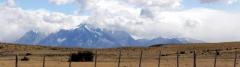 Blick auf das Torres del Paine-Massiv