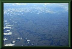 Blick über die kolumbianischen Llanos