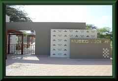 Túcume, Eingang zum Museum