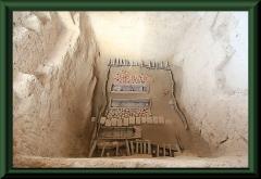 Eines der Gräber in Sipan