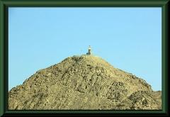 Cerro Tutelar bei Guadalupe mit Marienstatue