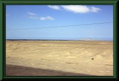 Nahe Paijan - in Hintergrund der Pazifik