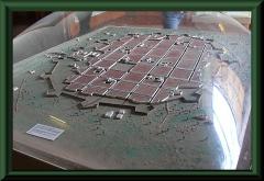 Trujillo - Modell der Altstadt