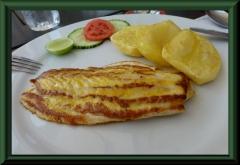 Huanchaco - Big Ben - Gaststätte mit top Fischgerichten