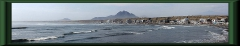 Die Bucht von Huanchaco
