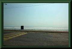 Der Strand nahe Huanchaco