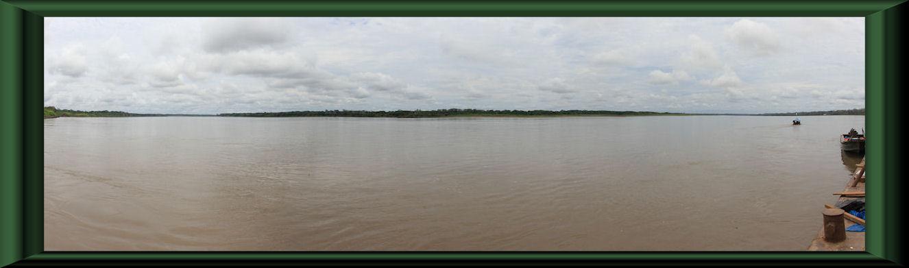 Río Ucayali bei Saquena