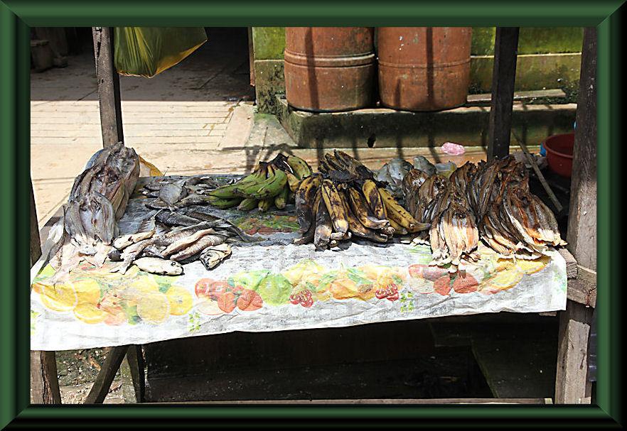 Auf dem Markt in Nauta