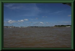 Mündung des Río Nanay in den Amazonas