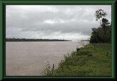 Amazonas bei Yanamono, morgens, stromaufwärts