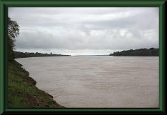 Amazonas bei Yanamono, morgens, stromabwärts