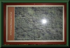 Die Landkarte zum Baumkronenpfad