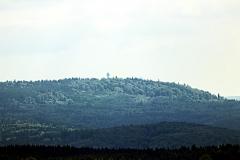 Blick zum Josephskreuz bei Stolberg