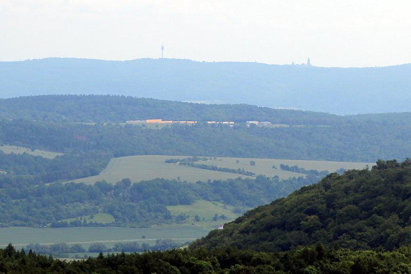 Blick Richtung Osten (Kyffhäuser)