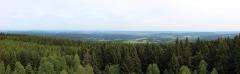 Blick nach Norden ins Thüringer Becken
