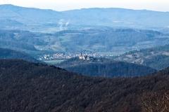 Blick zur Burg Ludwigstein