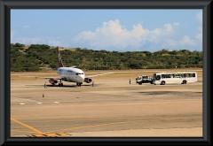 Ankunft unseres Flugzeuges auf dem Flughafen von Maiquetia (Caracas).