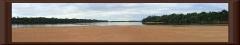Rio Ventuari - Blick stromaufwärts (von der Sandbank)