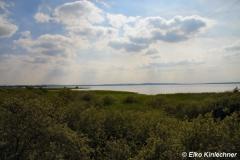 Blick über das Steinhuder Meer von Osten nach Südwesten, Richtung Steinhude.