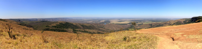 Mittelpunkt Südamerikas, Blick zum Pantanal