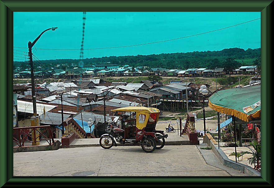 Pfahlbauten von Iquitos -Belén
