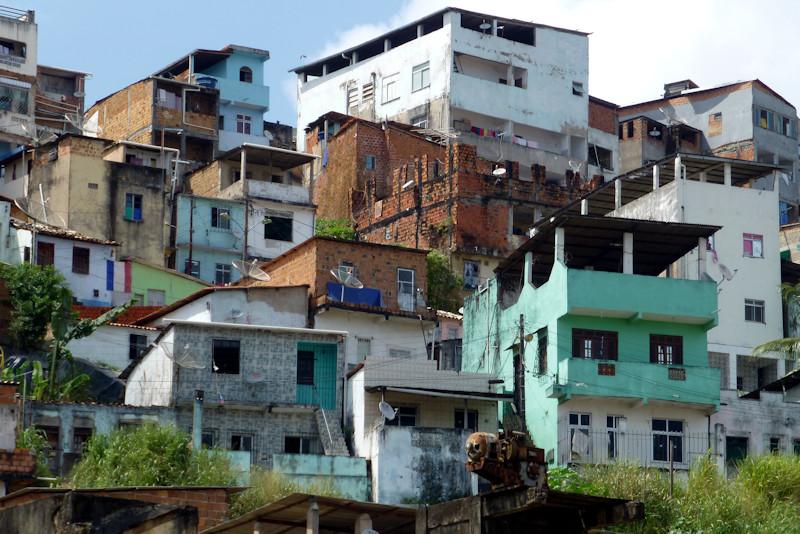 Salvador de Bahia - Favela