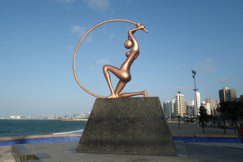 Fortaleza - Estatua de Iracema Guardiã