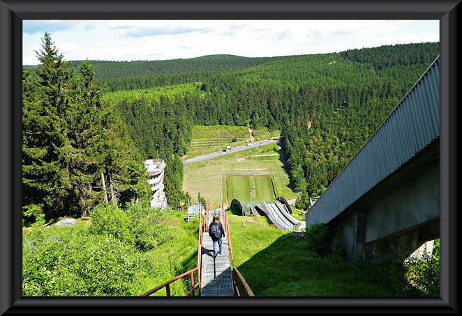 Oberhof - Schanze im Kanzlersgrund