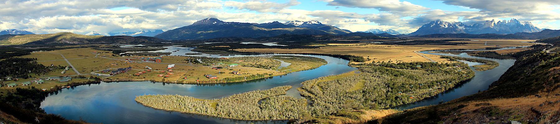 Río Serrano und Torres del Paine