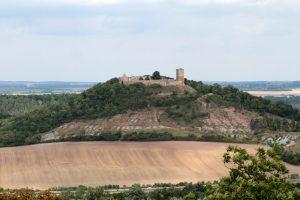 Burg Gleichen von Süden