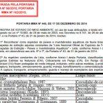 Liste bedrohter Welsarten 12-2014