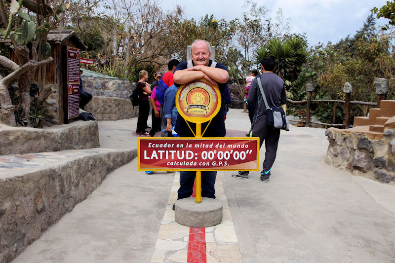 Quito - am Äquator