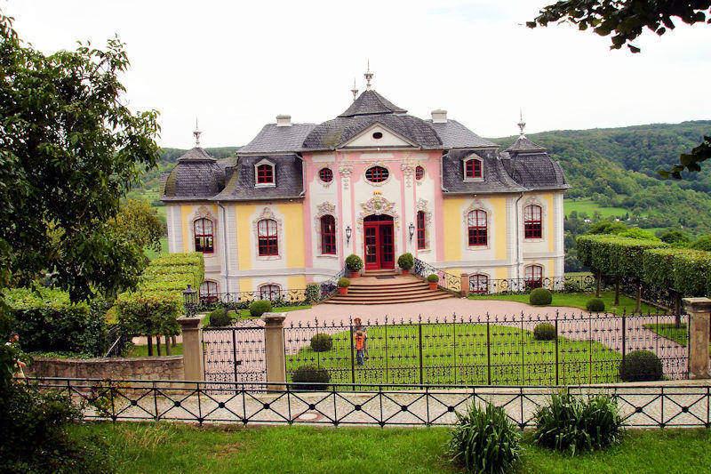 Dornburger Schlösser - Rokoko-Schloss