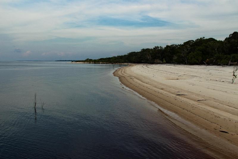 Strand am Rio Negro