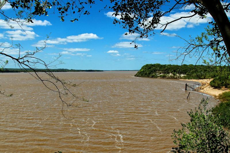 Río Uruguay bei El Palmar