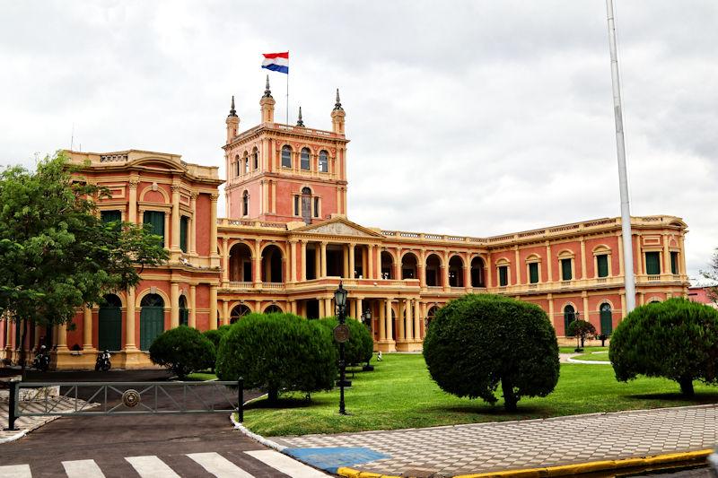 Asunción - Palacio de Gobierno