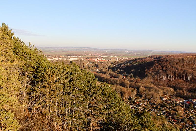 Alteburg - Kreuzchen - Blick auf Arnstadt